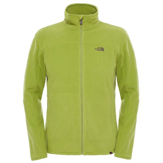 The North Face 100 Glacier Full Zip - Green