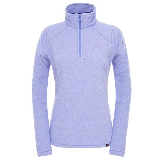 The North Face 100 Glacier 1/4 Zip W - Starry Purple Stirpe