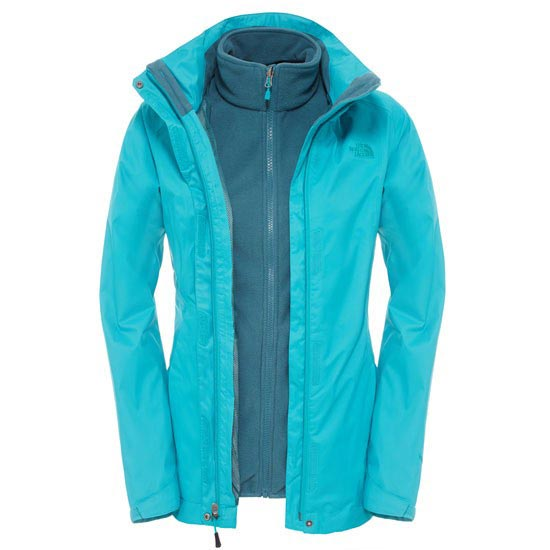 The North Face Evolve II Triclimate Jacket W - Kokomo Green