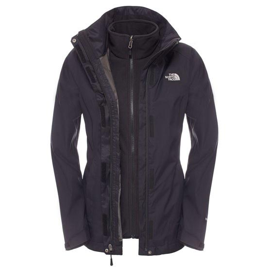 The North Face Evolve II Triclimate Jacket W - TNF Black/TNF Black