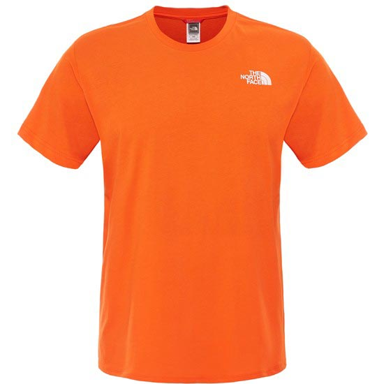 The North Face Red Box Tee - Acrylic Orange