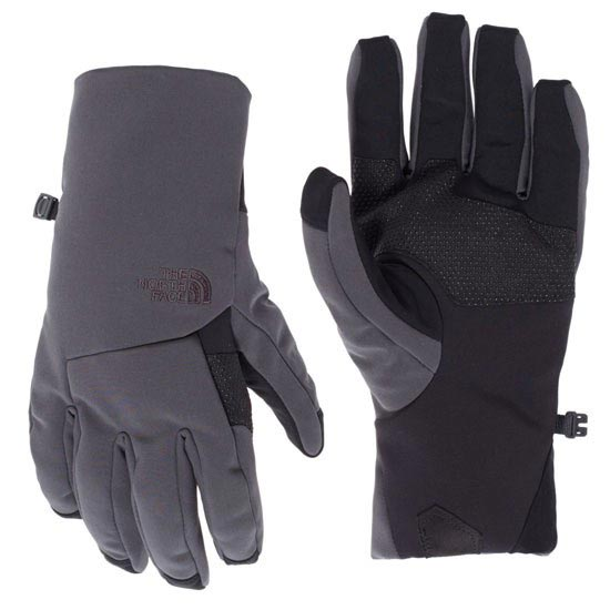 The North Face Apex + Etip Glove - Asphalt Grey
