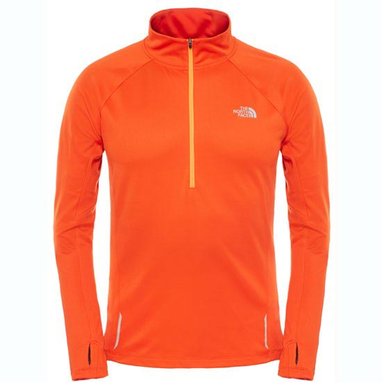 The North Face Isolite 1/2 Zip - Acrylic Orange Heather