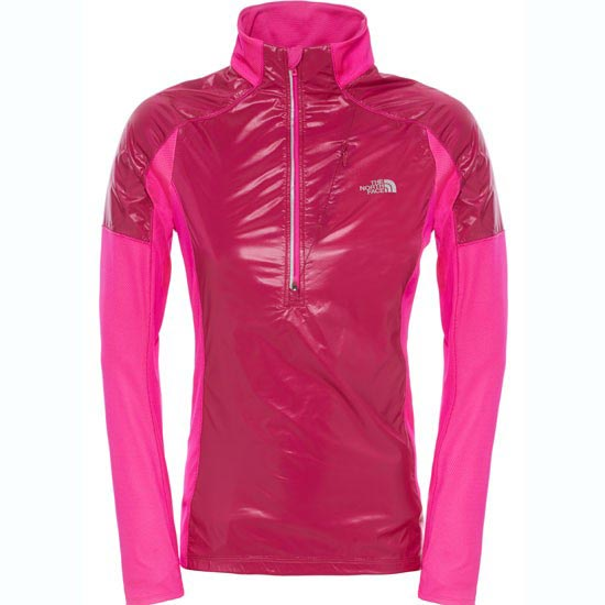 The North Face Isotherm 1/2 Zip W - Dramatic Plum/Luminous Pink Heather
