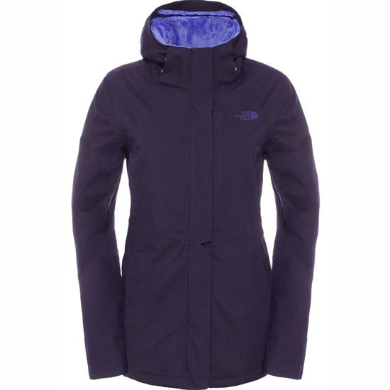 The North Face Inlux Insulated Jacket W - Garnet Purple Heather