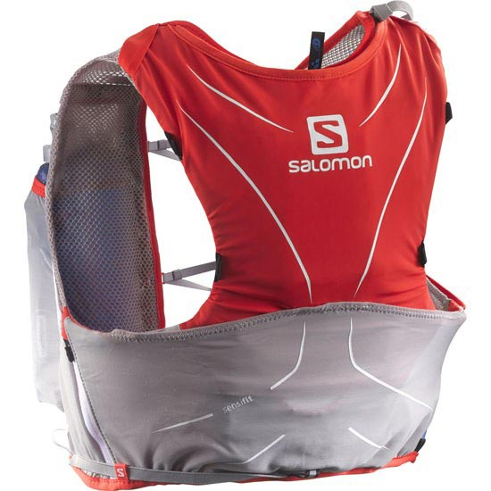 Salomon S-Lab Adv Skin 5 Set - Racing Red