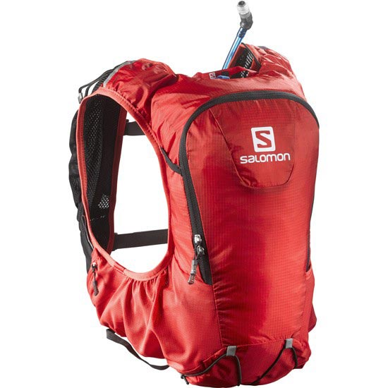 Salomon Skin Pro 10 Set - Bright Red/Black