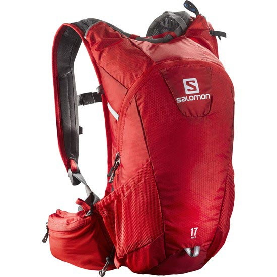 Salomon Agile 17 - Bright Red/White