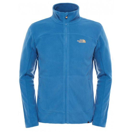 The North Face 100 Glacier Full Zip - Dish Blue