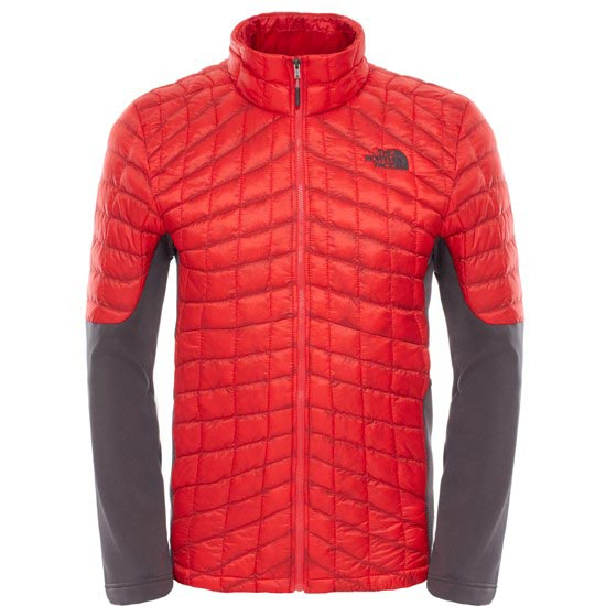 The North Face Momentum Thermoball Hybrid Jacket - TNF Red/Asphalt Grey