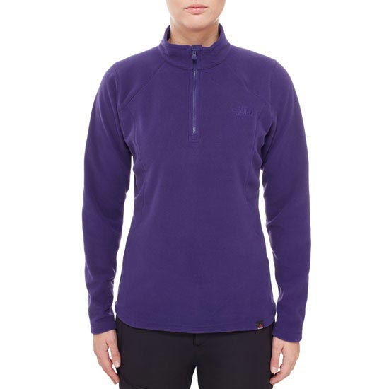 The North Face 100 Glacier 1/4 Zip W - Photo de détail