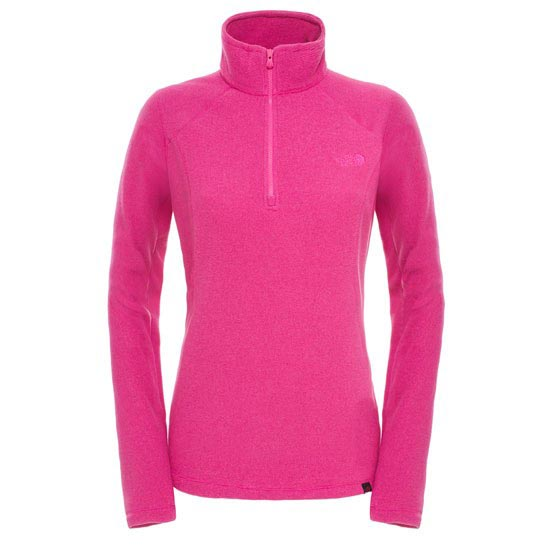 The North Face 100 Glacier 1/4 Zip W - Dramatic Plum Stripe