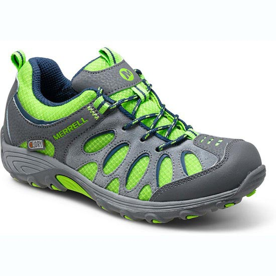 Merrell Chameleon Low Lce WTPF Jr - Grey/Green