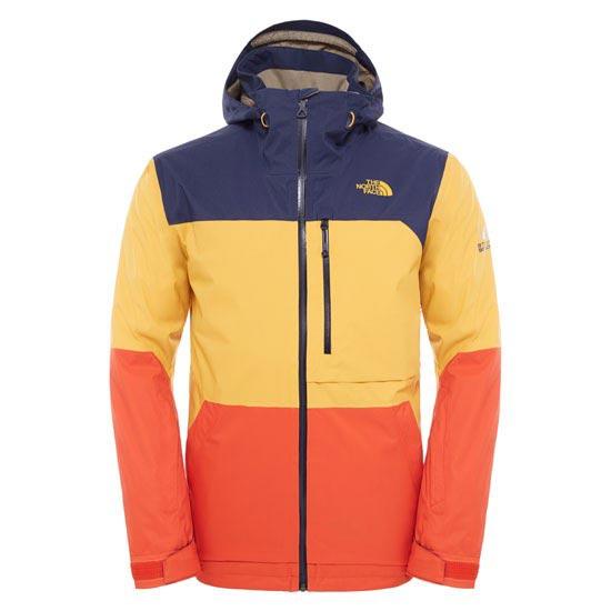 The North Face Sickline Jacket - Zion Orange/Traverse Yellow/Cosmic Blue