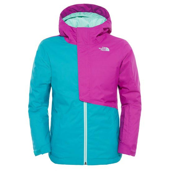 The North Face Insulated Casie Jacket Girl - Kokomo Green/Magic Magenta