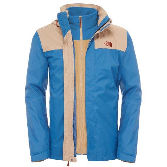 The North Face Evolve II Triclimate Jacket - Dish Blue/Moab Khaki
