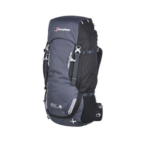Berghaus Ridgeway  65+10 - Carbon/Jet Black