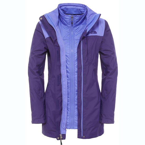 The North Face Solaris Triclimate Parka W - Garnet Purple