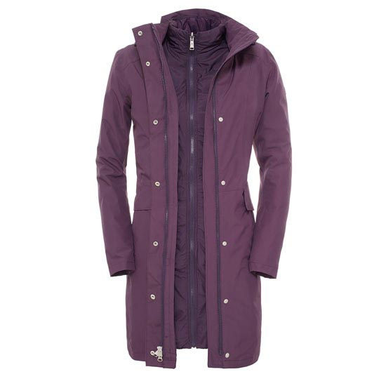 The North Face Suzanne Triclimate Jacket W - Dark Eggplant Purple