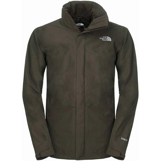 The North Face All Terrain II Jacket - Black Ink Green