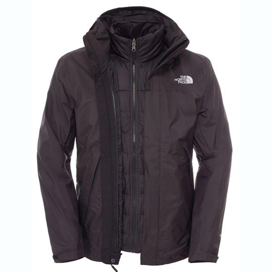 The North Face Mountain Light Triclimate Jacket - TNF Black/TNF Black