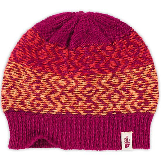 The North Face Tribe N True Beanie - Dramatic Plumb/Melon Red