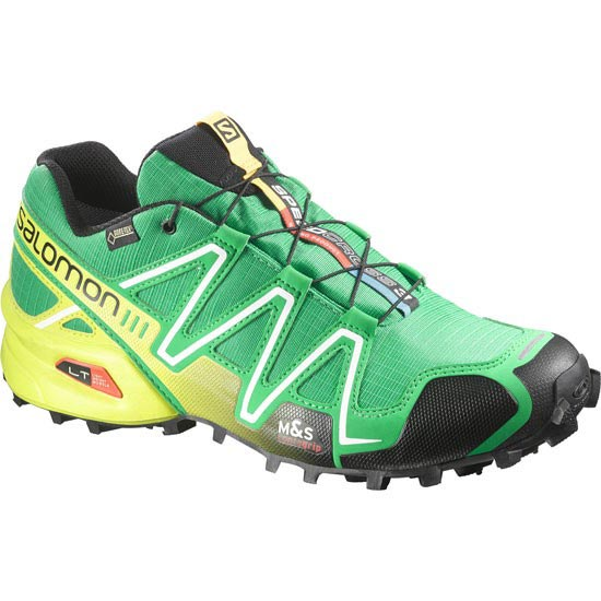 Salomon Speedcross 3 Gtx - Real Green/Gecko Green