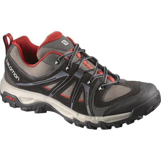Salomon Evasion Aero - Black/Swamp/Flea