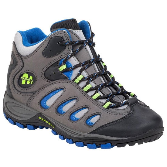 Merrell Reflex Mid Waterproof J - Grey/Multi