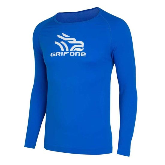 Grifone Bailey T-Shirt LS - Blue Chrome