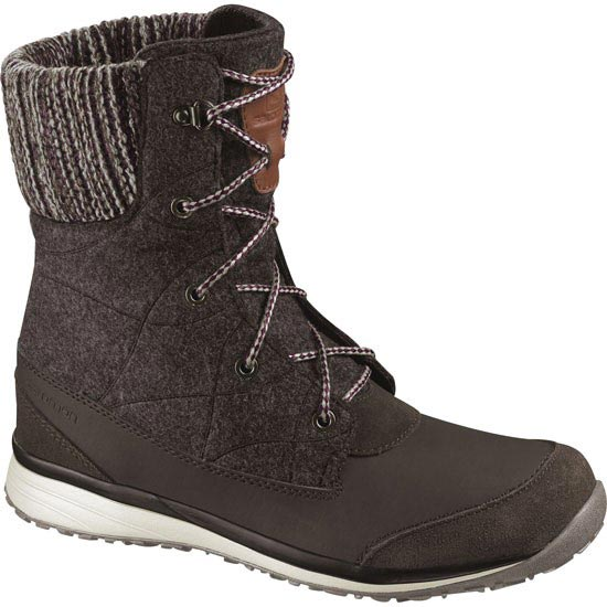 Salomon Hime Mid W - Absolute Brown-X/Absolute Brown-X