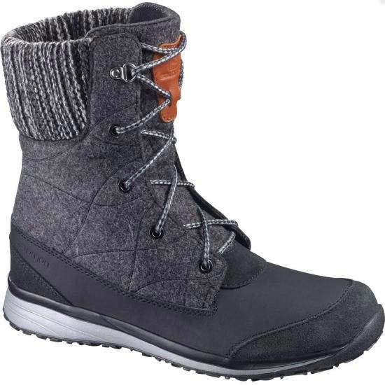 Salomon Hime Mid W - Black/Asphalt/Pewter