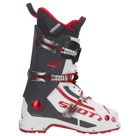 Scott Bota Esqui S1 Carbon Longfiber White/red -