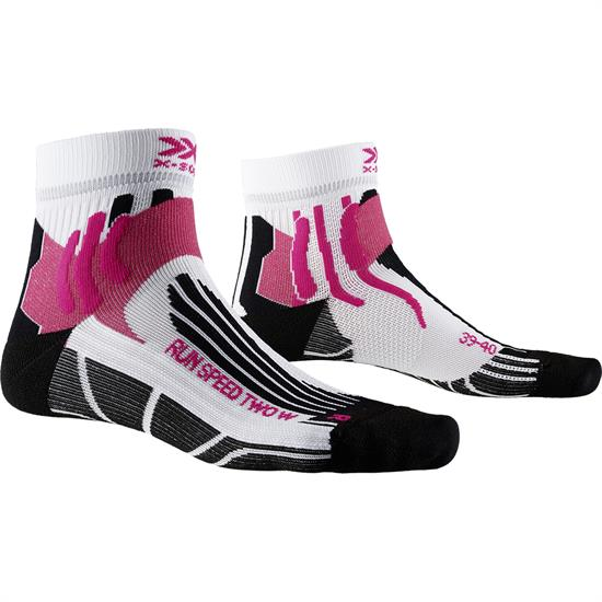 Xsocks Run Speed Two W Arctic White/opal Black - W003