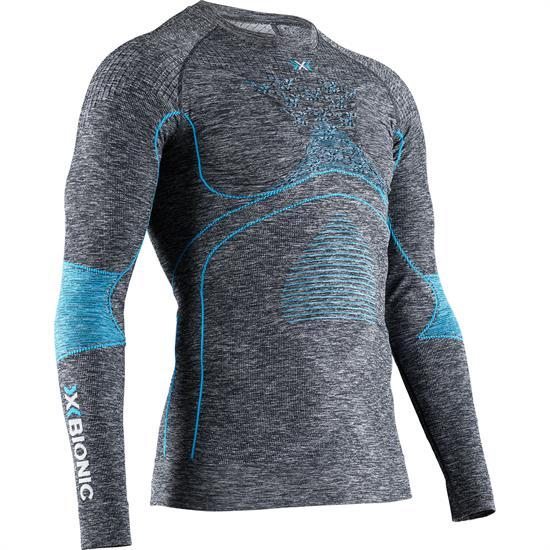 X-bionic T-Shirt Ls Energy Accum 4.0 M Dk Gr Ml/B - G161