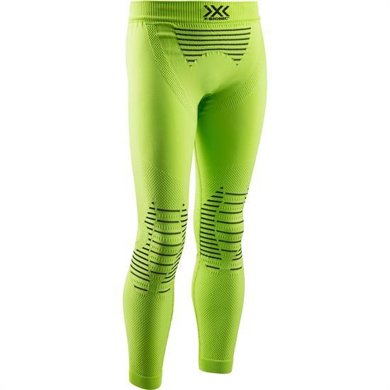 X-bionic Tight Invent 4.0 Jr Grn Lime/Blk - E173