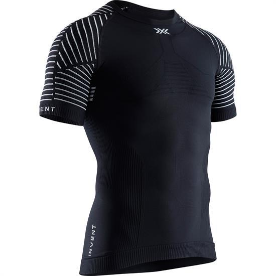 X-bionic T-Shirt Sl Invent Round Neck M Blk Mel - B002