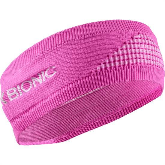 Xsocks Headband 4.0 Flamingo Pink/Arctic White - FLAMINGO P