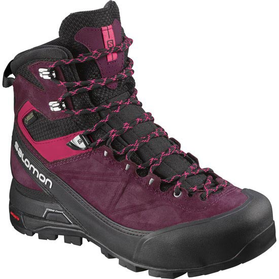 Salomon X Alt Mtn GTX W - Black/Bordeaux