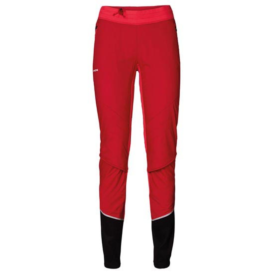 Vaude Bormio Touring Pants W - Indian red