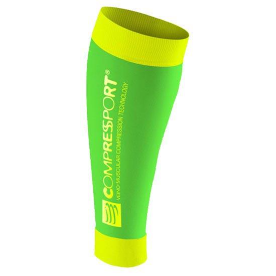 Compressport Calf R2 - Fluo Green