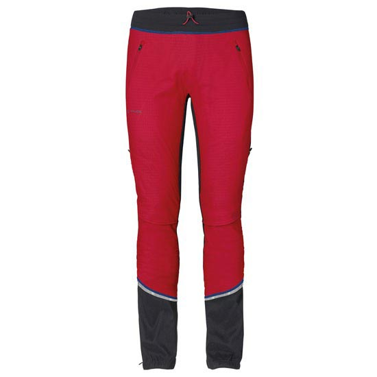 Vaude Bormio Touring Pants - Indian red