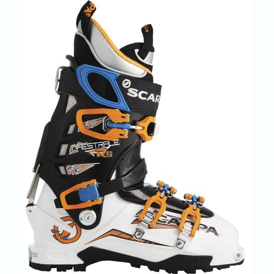 Scarpa Maestrale RS - White/Orange/Blue Royal