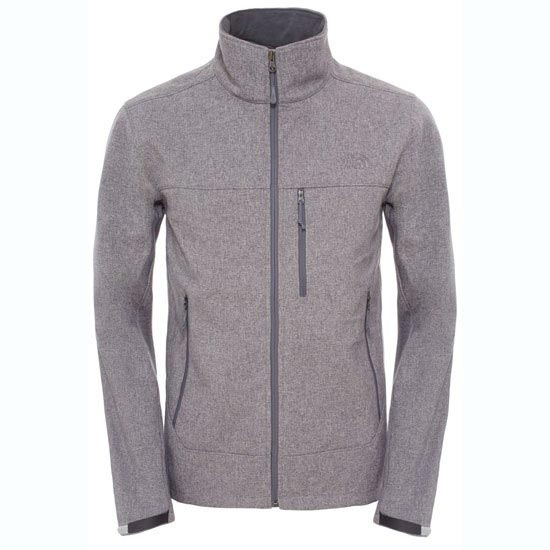 The North Face Apex Bionic Jacket - High Rise Grey Heather/High Rise Grey Heather
