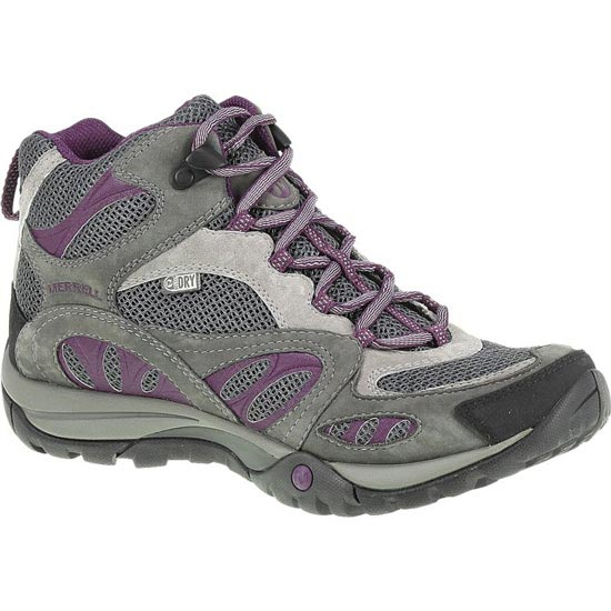 Merrell Azura Mid WP W - Castle Rock/Purple