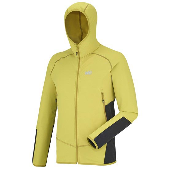 Millet Jack Stretch Hoodie - Yellow