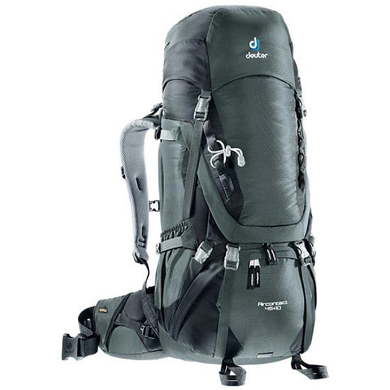 Deuter Aircontact 45+10 - Granite/Black