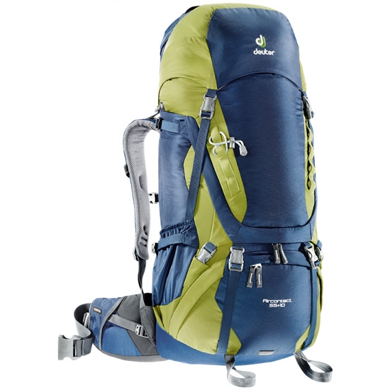 Deuter Aircontact 55+10 - Midnight/Moss