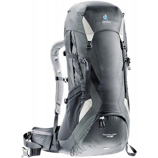 Deuter Futura Pro 44 EL - Black/Granite