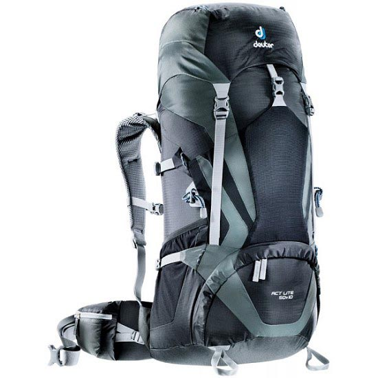Deuter Act Lite 50+10 - Black/Granite